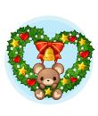 でっかいクリスマスリース