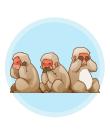 叡智を示す!三猿