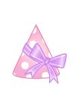 パーティ帽(りぼん)