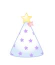 パーティ帽(星)