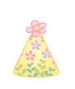 パーティ帽(花)