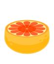 オレンジチェア