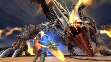 ドラゴンネストゲーム画面