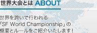 世界大会とは ABOUT 世界を跨いで行われる「SF World Championship」の概要とルールをご紹介いたします!
