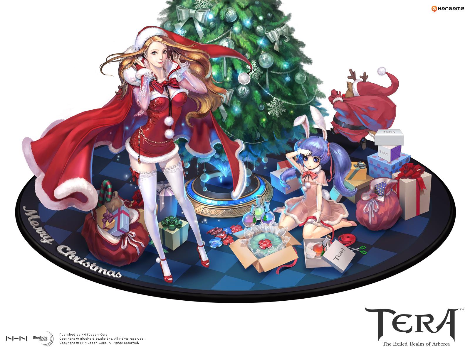 日服圣诞节桌面壁纸下载